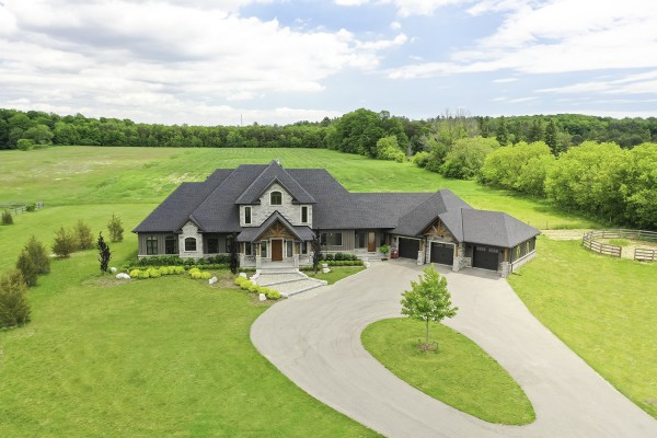 15501 Ninth Line, Stouffville - Newly Finished Estate Home Situated on 13 Acres