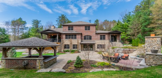 5057 Vivian Rd - Recently Constructed and Highly Customized 10 Acre Vivian Forest Stone and Brick Estate